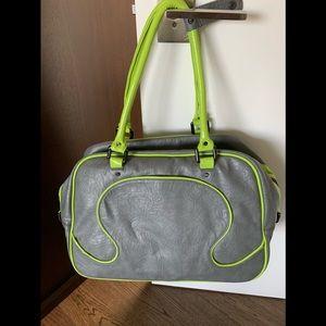 Lululemon leather duffle bag